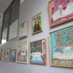 29 мая в 18.00, в пятницу. Закрытие выставки Люси Елесиной «Голубое и золотое» в зале Чайковского
