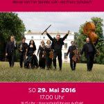 Sonntag, 29. Mai 2016, 17:00 /16.15 Konzerteinführung Auftakt